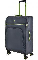 Cestovní kufr Dielle 4W M 10-60-23 antracitová