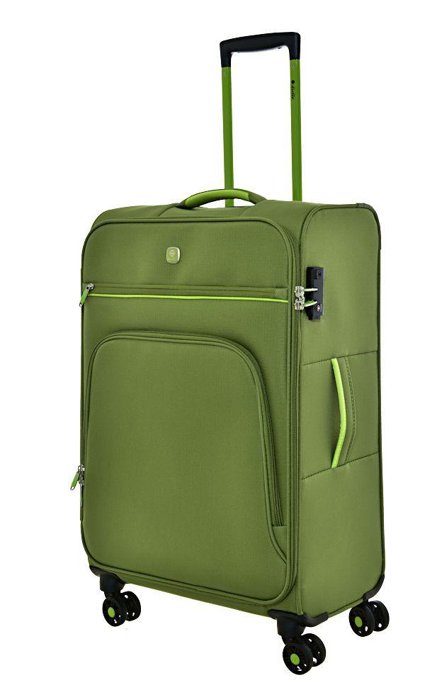 Cestovní kufr Dielle 4W M 10-60-33 zelená