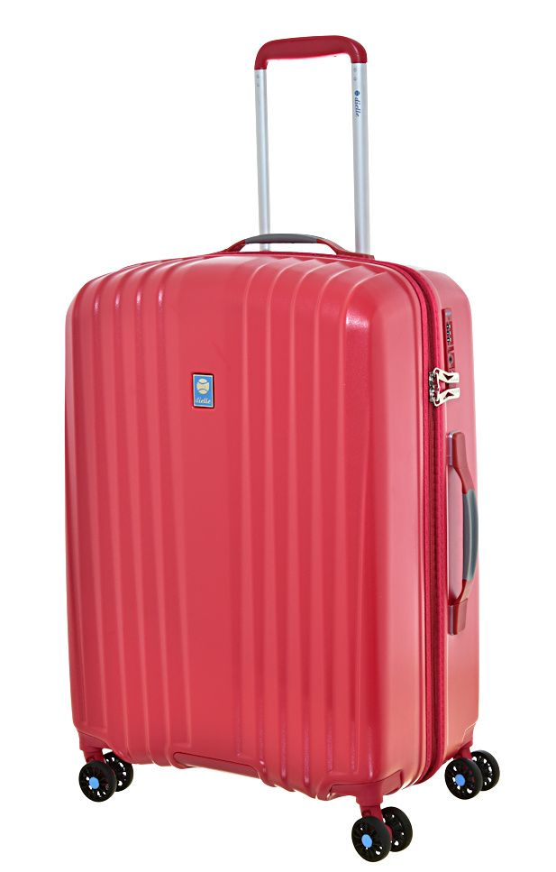 Cestovní kufr Dielle 4W M 120-60-02 červená