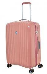 Cestovní kufr Dielle 4W M 120-60-30 růžová