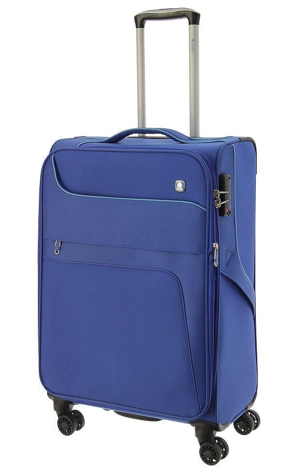 Cestovní kufr Dielle 4W M 610-60-05 modrá