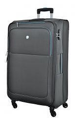 Cestovní kufr Dielle L  720-70-13 šedá