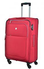Cestovní kufr Dielle M  720-60-02 červená