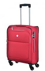 Cestovní kufr Dielle S  720-55-02 červená