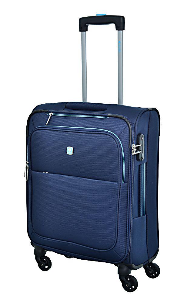 Cestovní kufr Dielle S 720-55-05 modrá