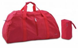 Skládací cestovní taška Dielle Lybra 378-02 červená