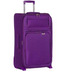 Cestovní kufr AEROLITE T-9515/3-L - fialová