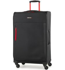 Cestovní kufr MEMBER'S TR-0137/3-L - černá