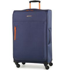 Cestovní kufr MEMBER'S TR-0137/3-L - modrá