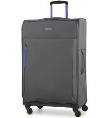 Cestovní kufr MEMBER'S TR-0137/3-L - šedá