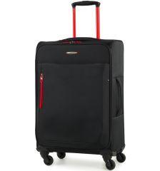 Cestovní kufr MEMBER'S TR-0137/3-M - černá