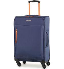 Cestovní kufr MEMBER'S TR-0137/3-M - modrá