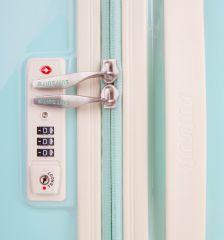 Cestovní kufr SUITSUIT® TR-1222/3-L - Fabulous Fifties Luminous Mint E-batoh