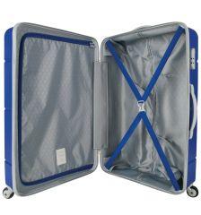 Cestovní kufr SUITSUIT® TR-1225/3-M ABS Caretta Dazzling Blue E-batoh