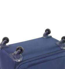 Kabinové zavazadlo MEMBER'S TR-0137/3-S - šedá E-batoh