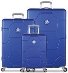 Sada cestovních kufrů SUITSUIT® TR-1225/3 ABS Caretta Dazzling Blue