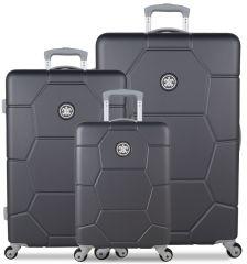 Sada cestovních kufrů SUITSUIT® TR-1226/3 ABS Caretta Cool Grey