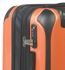 Cestovní kufr MIA TORO M1021/3-L - oranžová E-batoh