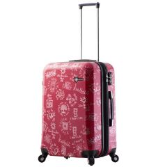 Cestovní kufr MIA TORO M1089/3-M - červená