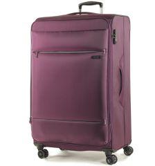 Cestovní kufr ROCK TR-0161/3-L - fialová