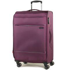 Cestovní kufr ROCK TR-0161/3-M - fialová