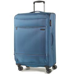 Cestovní kufr ROCK TR-0161/3-M - modrá