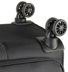 Cestovní kufr ROCK TR-0161/3-M - tmavě modrá E-batoh