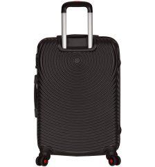 Cestovní kufr SIROCCO T-1157/3-M ABS - černá AZURE E-batoh