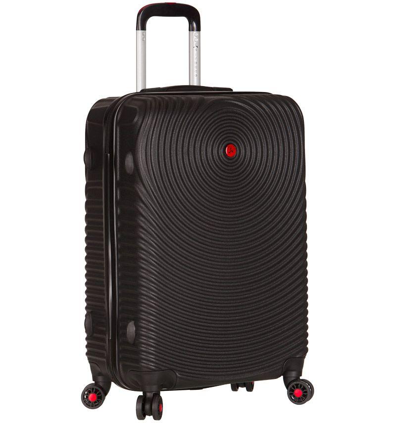 Cestovní kufr SIROCCO T-1157/3-M ABS - černá
