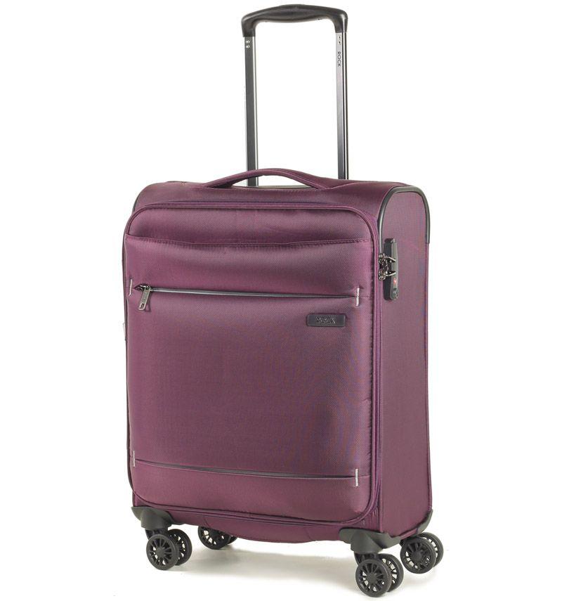Kabinové zavazadlo ROCK TR-0161/3-S - fialová