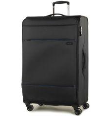 Cestovní kufr ROCK TR-0161/3-L - černá