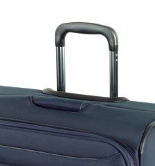 Cestovní kufr ROCK TR-0162/3-L - šedá E-batoh