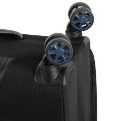 Cestovní kufr ROCK TR-0162/3-L - tmavě modrá E-batoh