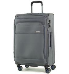 Cestovní kufr ROCK TR-0162/3-M - šedá