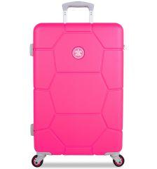 Cestovní kufr SUITSUIT® TR-1248/3-M ABS Caretta Hot Pink