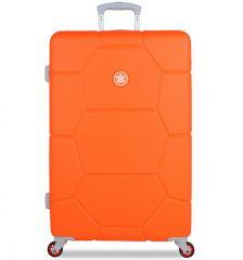 Cestovní kufr SUITSUIT® TR-1249/3-L ABS Caretta Vibrant Orange