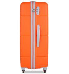 Cestovní kufr SUITSUIT® TR-1249/3-M ABS Caretta Vibrant Orange E-batoh