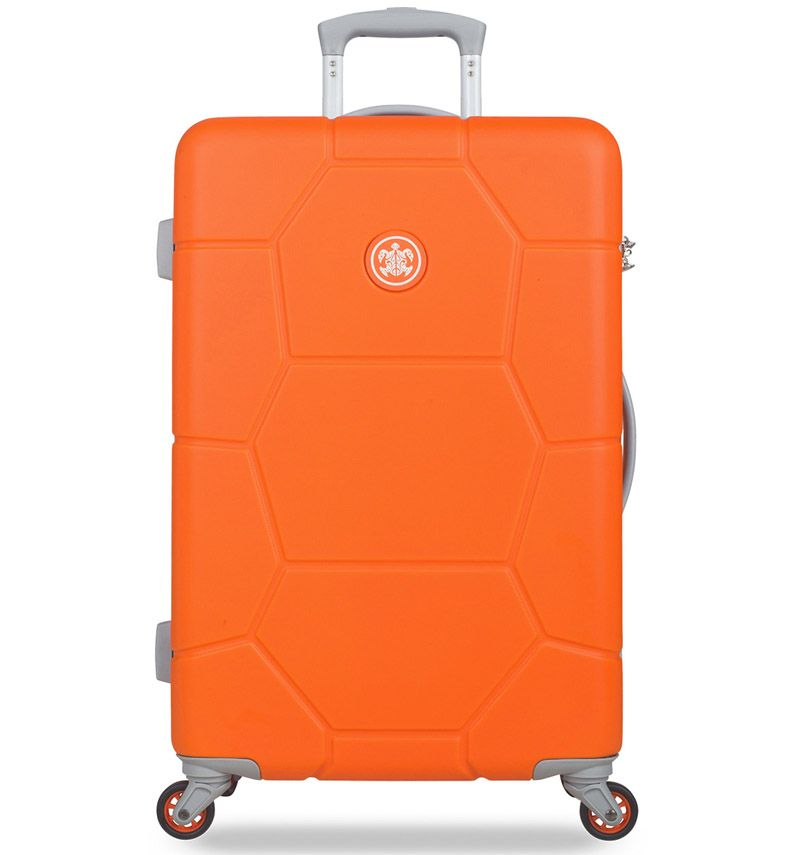 Cestovní kufr SUITSUIT® TR-1249/3-M ABS Caretta Vibrant Orange
