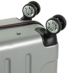 Kabinové zavazadlo ROCK TR-0166/3-S ABS/PES - černá E-batoh