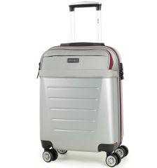 Kabinové zavazadlo ROCK TR-0166/3-S ABS/PES - stříbrná