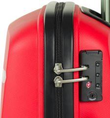 Cestovní kufr ROCK TR-0174/3-L PP - černá E-batoh