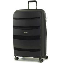 Cestovní kufr ROCK TR-0174/3-L PP - černá