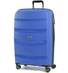 Cestovní kufr ROCK TR-0174/3-L PP - modrá