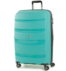 Cestovní kufr ROCK TR-0174/3-L PP - zelená