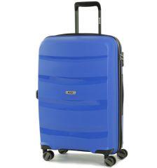Cestovní kufr ROCK TR-0174/3-M PP - modrá
