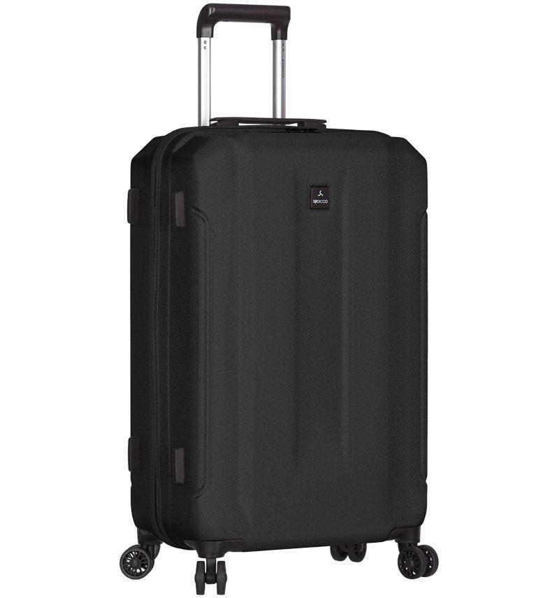Cestovní kufr SIROCCO T-1177/3-L ABS - černá AZURE E-batoh