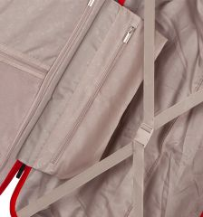 Cestovní kufr SIROCCO T-1177/3-L ABS - červená AZURE E-batoh
