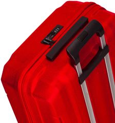 Cestovní kufr SIROCCO T-1177/3-M ABS - červená AZURE E-batoh