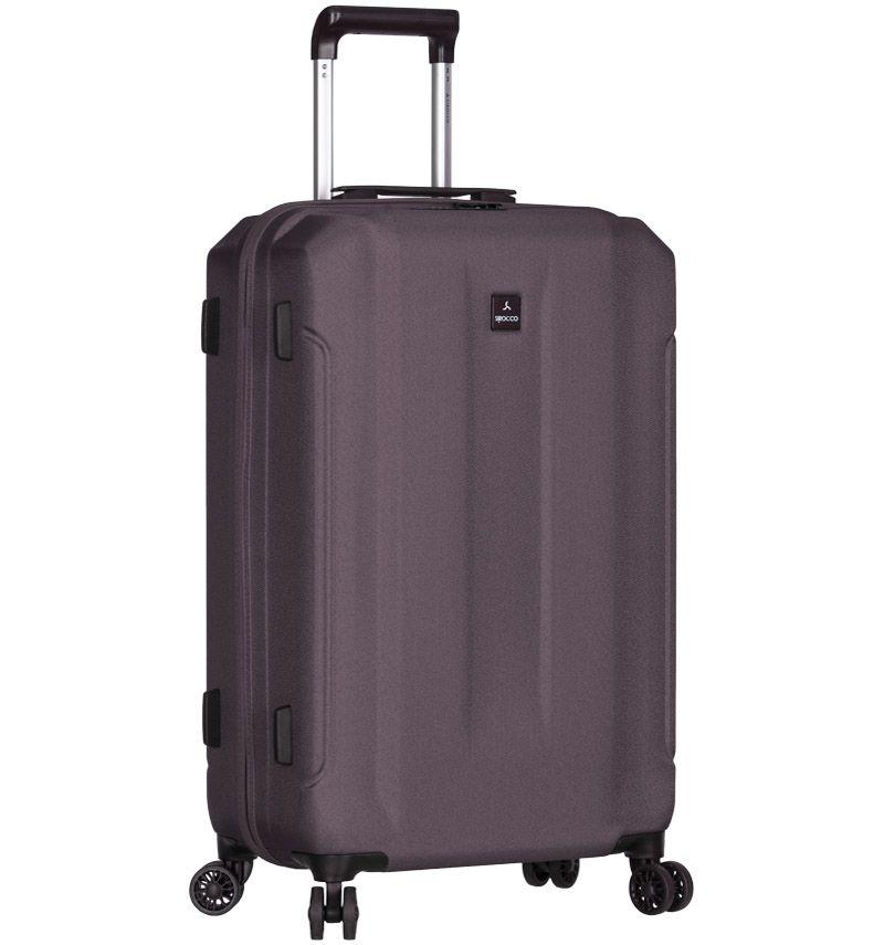 Cestovní kufr SIROCCO T-1177/3-M ABS - šedá AZURE E-batoh