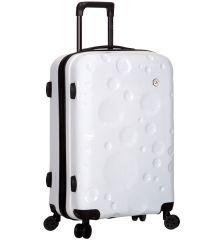 Cestovní kufr SIROCCO T-1194/3-L PC - bílá